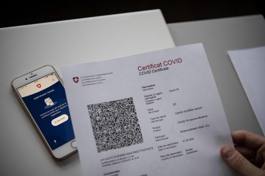 Certificat COVID obligatoire