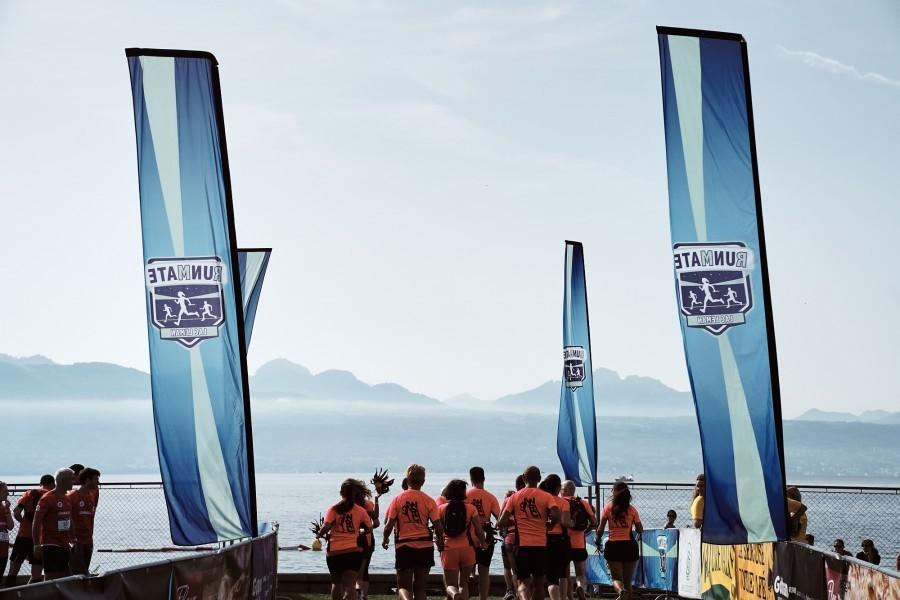 3rd edition of Run Mate: the relay running race around lake Geneva